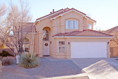 Albuquerque Single Family Home For Sale: 4604 Waynesboro Place NW
