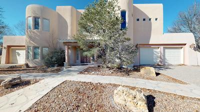 Albuquerque NM Single Family Home For Sale: $459,000