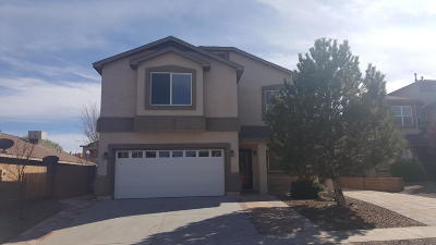 Single Family Home For Sale: 9828 Rancho West Place SW