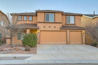 Valencia County Single Family Home For Sale: 1491 Libertado Court NW