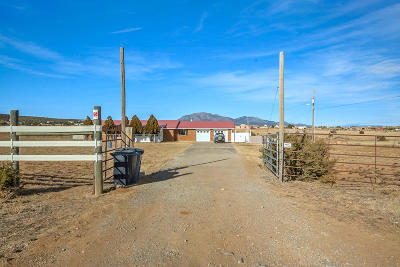 Edgewood NM Single Family Home For Sale: $278,500