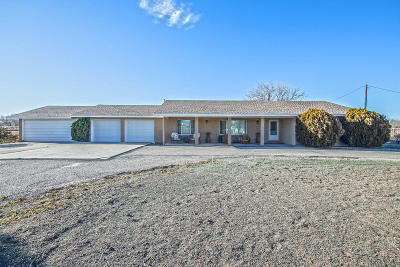 Los Lunas Single Family Home For Sale: 25 San Fernandez Road
