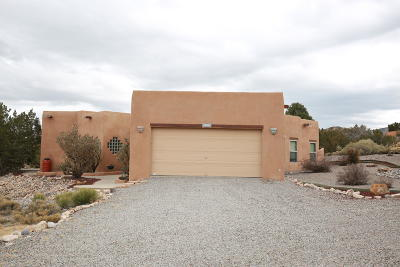 Placitas Single Family Home For Sale: 26 Cedar Creek Road