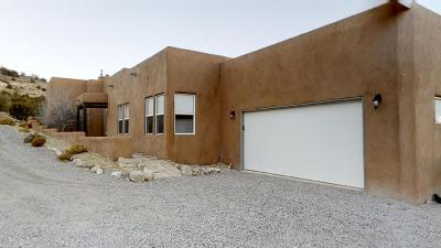 Placitas Single Family Home For Sale: 28 Loma Chata Road