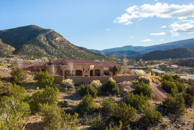 Placitas Single Family Home For Sale: 5 Camino Esperanza