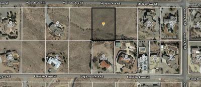 Residential Lots & Land For Sale: 8900 Modesto Avenue NE