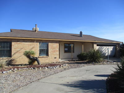 Rio Rancho Single Family Home For Sale: 442 Sandstone Drive NE