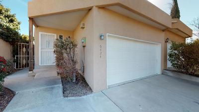 Albuquerque Attached For Sale: 6424 Truchas Drive NE