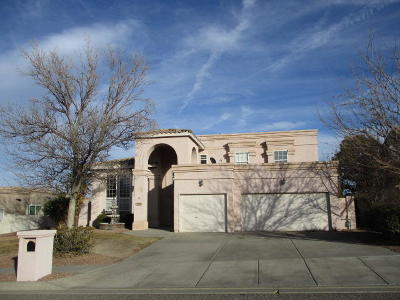 Rio Rancho Single Family Home For Sale: 3737 Spyglass Loop SE