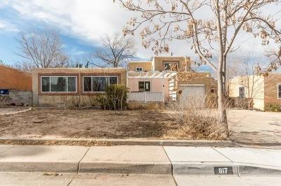 Albuquerque Single Family Home For Sale: 817 Lafayette Drive NE