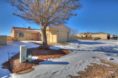 Rio Rancho Single Family Home For Sale: 2119 High Desert Court NE