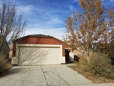 Bernalillo County Single Family Home For Sale: 10723 Walnut Canyon Road SW