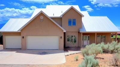 Rio Rancho Single Family Home For Sale: 7016 Tampico Road NE