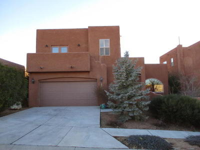 Bernalillo County Single Family Home For Sale: 8420 Desert Sunrise Road NE