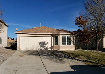 Rio Rancho Single Family Home For Sale: 741 Morning Meadows Drive NE