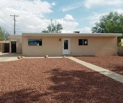 Bernalillo County Single Family Home For Sale: 4918 Mescalero Road NE