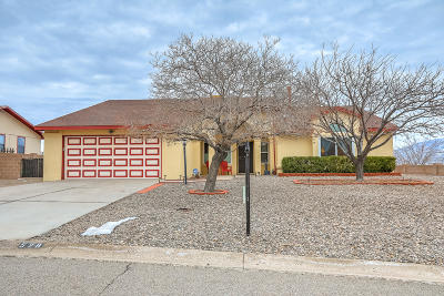Rio Rancho Single Family Home For Sale: 528 Longwood Loop NE