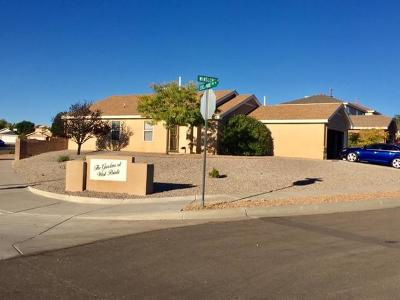 Bernalillo County Single Family Home For Sale: 7400 Winslow Place NW