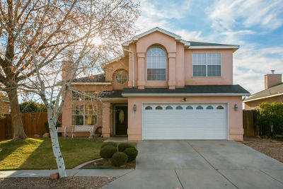 Albuquerque Single Family Home For Sale: 6525 Mesa Mariposa Place NW