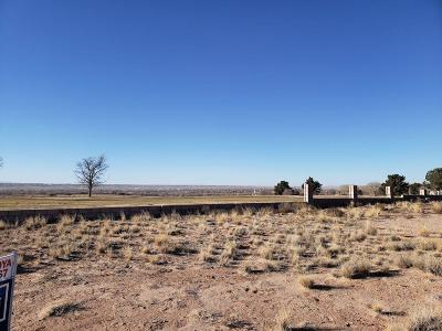 Valencia County Residential Lots & Land For Sale: Tres Cantos