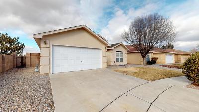 Albuquerque Single Family Home For Sale: 6831 Platt Place NW