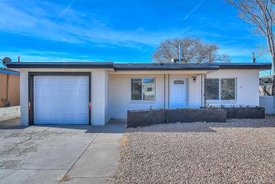 Albuquerque Single Family Home For Sale: 625 Cardenas Drive SE