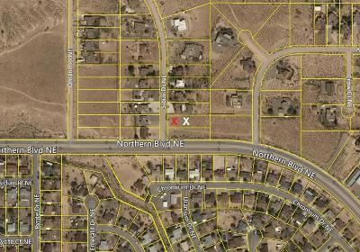 Sandoval County Residential Lots & Land For Sale: 4745 Sioux Drive NE