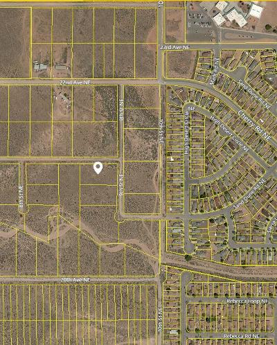 Sandoval County Residential Lots & Land For Sale: 2225 9th Street NE