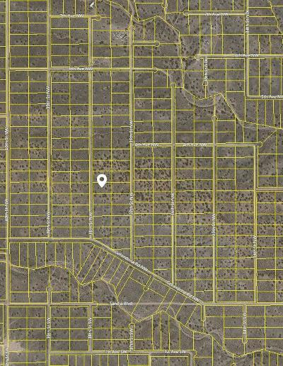 Sandoval County Residential Lots & Land For Sale: 38th Street NW