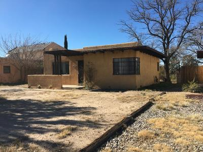 Albuquerque Single Family Home For Sale: 1727 Hermosa Drive NE