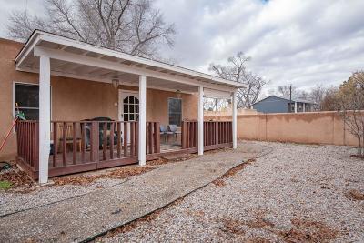 Albuquerque Single Family Home For Sale: 3209 Rio Grande Boulevard NW