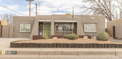 Single Family Home For Sale: 508 Jefferson Street SE