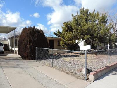 Albuquerque Single Family Home For Sale: 3123 Truman Street NE