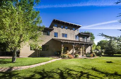 Placitas, Bernalillo Single Family Home For Sale: 1048 Bosque Loop