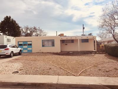 Albuquerque Single Family Home For Sale: 11206 Brentwood Hills Boulevard NE