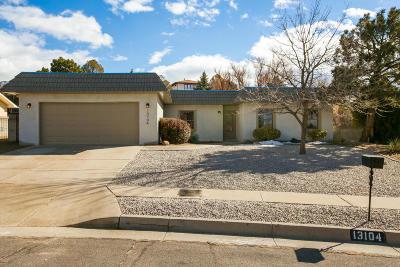 Albuquerque NM Single Family Home For Sale: $379,900