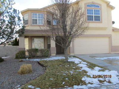 Rio Rancho Single Family Home For Sale: 3422 Hunter Meadows Circle NE