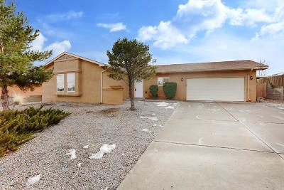 Rio Rancho Single Family Home For Sale: 7304 Pechora Drive NE