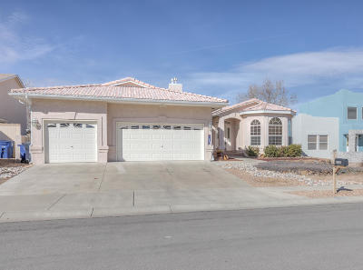 Albuquerque Single Family Home For Sale: 10309 Dunbar Street NW