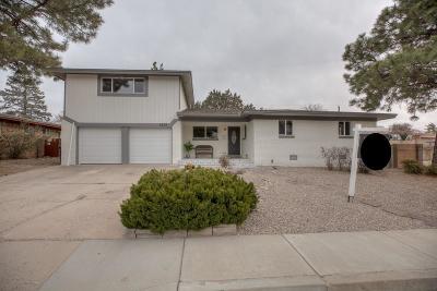 Albuquerque Single Family Home For Sale: 8300 Dellwood Road NE