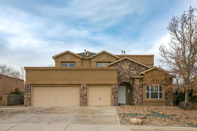 Rio Rancho Single Family Home For Sale: 5013 Brighton Hills Place NE