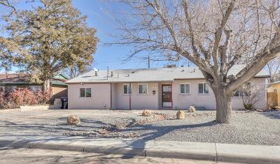 Albuquerque Single Family Home For Sale: 2704 Espanola Street NE