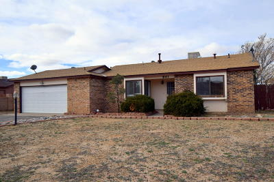 Rio Rancho Single Family Home For Sale: 841 Sunflower Drive SW