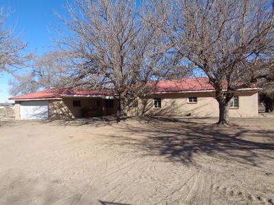 Valencia County Single Family Home For Sale: 202 El Cerro Loop