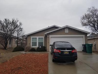 Rio Rancho Single Family Home For Sale: 3751 Cattle Drive NE