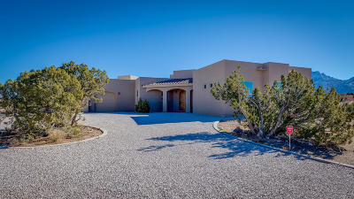 Placitas Single Family Home For Sale: 2 Meadows Place