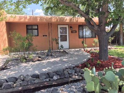 Albuquerque NM Single Family Home For Sale: $185,000