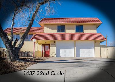 Albuquerque, Rio Rancho Single Family Home For Sale: 1437 32nd Circle SE