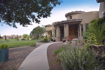 Valencia County Single Family Home For Sale: 30 Hacienda Del Valle