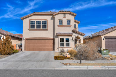 Albuquerque, Rio Rancho Single Family Home For Sale: 4015 Sierra Alta Avenue NE